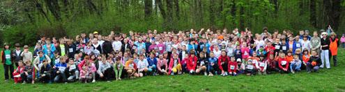 300 biegających Ogrodników