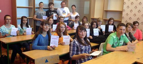 Dziękujemy wolontariuszom z Żerkowa