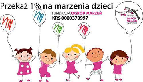 Przekaż 1% dzieciom